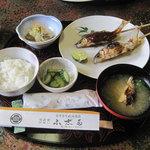 ふ志多 - 料理写真:鮎料理のランチ