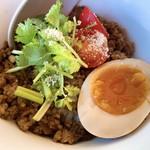 湖麺屋 リールカフェ - アジアン肉味噌ご飯 アップ