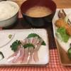 食事処さとう - 料理写真:柳葉魚刺身セット1100円