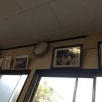 だるまラーメン - 黒木さんの写真、華大のサイン