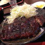 ソースかつ亭 黒のDON - 料理写真: