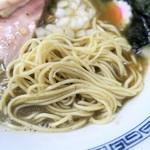 中華そば まゑだ - 麺