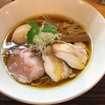 麺屋 希楽夢 - 鶏醤油そば、味玉トッピング