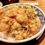 天ぷら 神田 - かき揚げ天丼1,080円