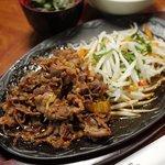 笠間苑 - 料理写真:焼肉ランチ 500円