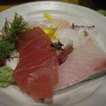 海鮮呑屋日本橋 - 旬のお刺身4種盛り合わせ