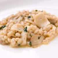 リストランテ カバカヴァロ - 大麦のリゾット(オルゾット)