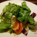 ロマンチック街道 - 料理写真:セットの「サラダ」