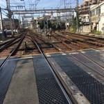 94562106 - 右が京都線京都方面、左が奈良線大阪方面