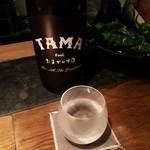 94562271 - 福岡で一番古い大賀酒造さんのTAMAたまでいづみ。爽やかでキリッと辛口。お刺身に合いますね。