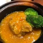 中国名菜 來杏 - 上海蟹ミソ入り大きな肉団子の上海伝統煮込み
