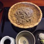 胡蝶庵 仙波 - ざる蕎麦  一枚目
