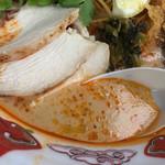 麺屋 サマー太陽 - カオソーイ スープアップ(麺屋サマー太陽) 2018.10