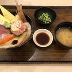 築地食堂源ちゃん - 源ちゃん丼 980円+税