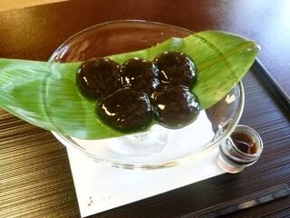 茶寮 宝泉 - わらび餅(950円)
