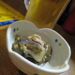 武鳥 - 生ビール_510円、お通し