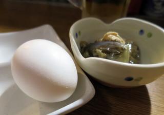 武鳥 - サービスの茹で玉子
