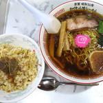 醤油屋本店 - 炒めごはんセット_734円を萬字に変更プラス54円