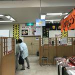 我流麺舞 飛燕 - イートインコーナー 入口