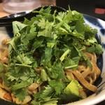 担担麺専門店 DAN DAN NOODLES. ENISHI - パクチートッピング