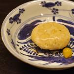 白 - 蓮根餅