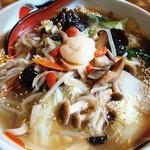 レストラン三宝 - 好爽湯麺  銀印(850円)