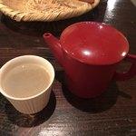 しらかめ - 蕎麦湯はどろりとしたタイプ