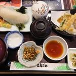 和食レストランとんでん - いかお造り・天ぷら膳