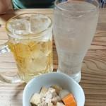 骨付鳥 蘭丸 - ハイボール&レモンサワー