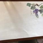 レストラン シャンモリ - テーブルマット