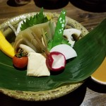 94579213 - 野菜盛合わせ(ひとり分)