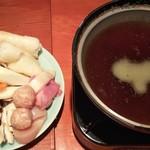 94579265 - きりんたぽ鍋(調理前)