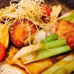 居酒屋 七の子 - 新料理!旬のあん肝のバター焼き