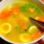熱帯食堂 - ソト・アヤム(具たっぷりスパイシーチキンスープ)