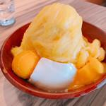 ICE MONSTER 沖縄 - マンゴーかき氷 Sサイズ