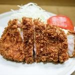 幸楽 - 料理写真:■ロースかつ定食(松)3500円