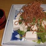 サガミ - 生ゆばと水菜のサラダ