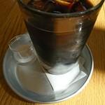 キンボシ パスタ カフェ - アイスコヒ♪(´ω`)