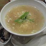 チャイナ食堂 ラ・ペーラ - あっさり塩ラーメン