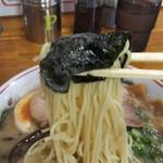 ぎょらん亭 - のり巻き麺リフト