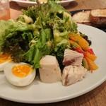 Ron Herman Cafe - ツナサラダ ¥1,300.- + パン ¥200.-