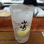 神戸三宮 ステーキ・鉄板焼 つや - 菊ハイボール