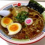 かもめ食堂 - 料理写真:かもめラーメン味玉のせ(醤油)!
