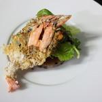 ル ベナトン - 雑穀米焼きリゾット 海老せんべいと