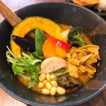 Rojiura Curry SAMURAI.  - お野菜たくさん!