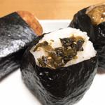かまくら むすび茶屋 - 高菜の油炒め(白米)
