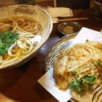 美糸 - 小海老と野菜のかきあげおうどん