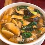 華吉 - 料理写真:初、椎茸そば
