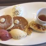 a - デザート①パンケーキ