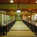 いけす・割烹・歌幸 - 大広間は60名様まで椅子席がご用意できます。
